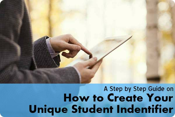 How to Create your Unique Student Identifier